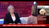 21/04/2013 - Bindi: &quot;Ho molta stima, ma no a Letta come presidente&quot;