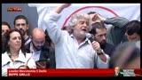 21/04/2013 - Grillo:serviva un Capo di Stato che salvasse Cavaliere e MPS