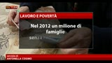 22/04/2013 - Crisi, ISTAT, un milione di famiglie senza redditi da lavoro