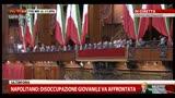 """3- Napolitano: """"Il clima da scontro elettorale va cambiato"""""""