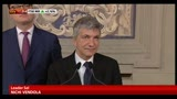 23/04/2013 - Vendola: nessun elemento di novit pu farci cambiare parere