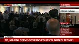 23/04/2013 - Bersani:convinto Marini potesse essere Presidente Repubblica