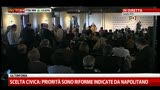 23/04/2013 - PD, Rosy Bindi: Napolitano ci ha chiesto responsabilit