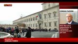 24/04/2013 - Napolitano, atteso per oggi l'incarico del nuovo governo