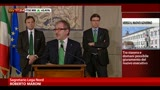 24/04/2013 - Consultazioni, Maroni: no ad Amato o a governo tecnico