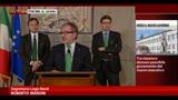 Consultazioni, Maroni: no ad Amato o a governo tecnico