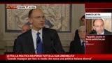 Letta: La politica ha perso tutta la sua credibilità