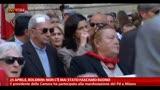 25/04/2013 - 25 Aprile, Boldrini: gli scettici vengano qui