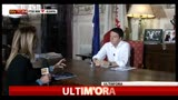 26/04/2013 - Renzi a SkyTG24: per la segreteria  ancora troppo presto