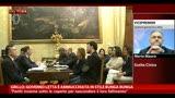 Grillo: governo Letta è ammucchiata stile bunga bunga