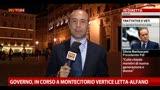 Governo, in corso a Montecitorio vertice Letta-Alfano