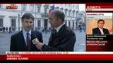 27/04/2013 - Andrea Olivero: soddisfatto per come stato composto Governo