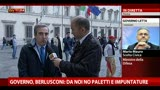 27/04/2013 - Governo Letta, Gasparri: Bersani ha fatto danno all'Italia