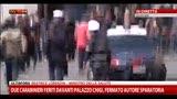 Prime immagini dei carabinieri feriti davanti Palazzo Chigi