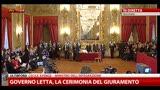 28/04/2013 - Governo, Josefa Idem al giuramento