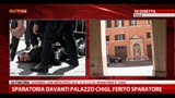 Sparatoria Palazzo Chigi, un testimone racconta