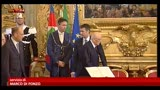 28/04/2013 - Sparatoria a Palazzo Chigi, le reazioni della politica