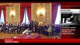 28/04/2013 - Sparatoria Palazzo Chigi, giuramento in un clima surreale