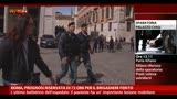 Roma, prognosi riservata di 72 ore per il brigadiere ferito