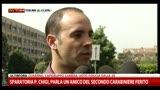 Sparatoria, parla un amico del secondo carabiniere ferito