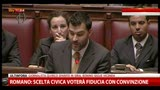 29/04/2013 - M5s conferma no alla fiducia governo Letta