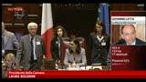 30/04/2013 - Governo, fiducia alla Camera: 453 sì, 153 no e 17 astenuti