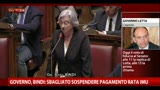 30/04/2013 - Governo, Bindi: sbagliato sospendere pagamento IMU