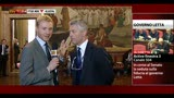 30/04/2013 - Il Senato vota la fiducia, intervista a Nicola Morra