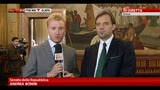 30/04/2013 - Il Senato vota la fiducia, intervista a Massimo Bitonci