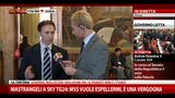 30/04/2013 - Mastrangeli a SkyTG24: M5S vuole espellermi, una vergogna