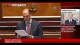 30/04/2013 - Alfano: Preiti ha agito da solo, accertamenti su arma