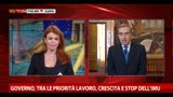 30/04/2013 - Gasparri, abbiamo problema di crescita e occupazione
