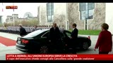 30/04/2013 - Letta a Merkel, all'UE serve la crescita
