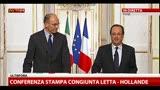 Incontro Letta-Hollande