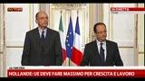 2- Letta-Hollande, le domande dei giornalisti