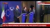 Incontro Letta-Barroso, le domande dei giornalisti