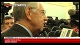 """Monti: """"Grande consonanza di visione con Letta"""""""