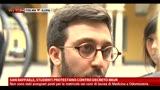 03/05/2013 - San Raffaele, studenti protestano contro decreto MIUR
