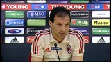 04/05/2013 - Milan, Allegri: &quot;Io via da Milanello? Solo illazioni&quot;