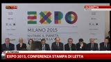 Milano, Letta all'Expo