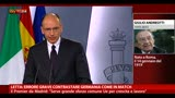 06/05/2013 - Letta: errore grave contrastare Germania come in match