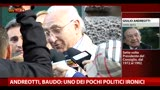 06/05/2013 - Andreotti, Baudo: tra i pochi politici col senso dell'ironia