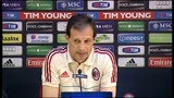 07/05/2013 - Allegri pensa al terzo posto: &quot;Non parlo pi del mio futuro&quot;