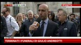 07/05/2013 - Terminati i funerali di Giulio Andreotti