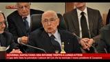 Governo, Napolitano: ora riforme troppo a lungo attese
