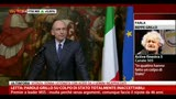 10/05/2013 - Letta: &quot;Parole Grillo su colpo di Stato inaccettabili&quot;