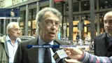 11/05/2013 - Vertice con Strama, Moratti: nessun carattere di mercato