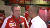 11/05/2013 - Gp Spagna, Domenicali: &quot;La pole? Domani  un altro giorno&quot;