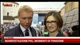 11/05/2013 - Manifestazione PDL, intervista a Mariastella Gelmini