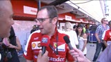 12/05/2013 - Gp Spagna, Domenicali: &quot;Restiamo concentrati&quot;